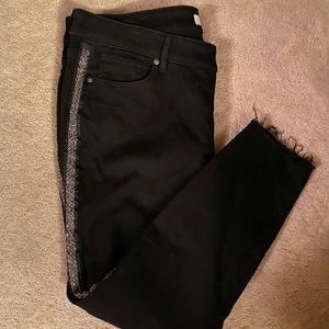Loft Plus black jeans 18
